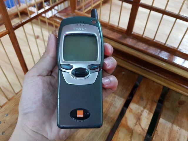 Nokia 7110 màu tía dạ quang trùng imei đẹp 95% MS 3012