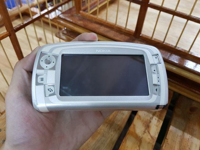 Nokia 7710 màu bạc nguyên zin có bút cảm ứng đẹp 98% MS 3020