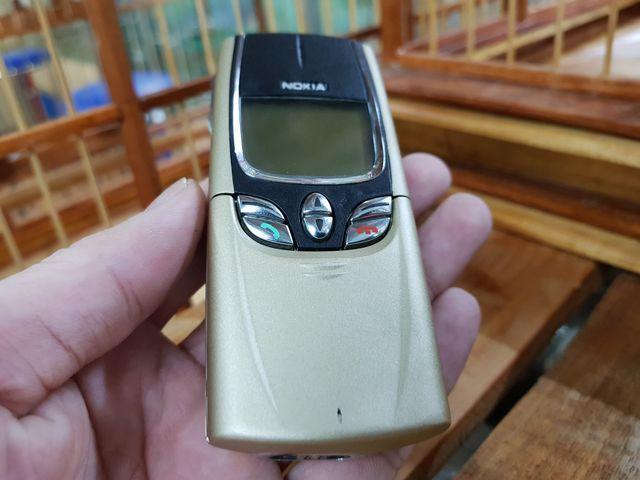 Nokia 8850 màu vàng gold nguyên zin đã thay vỏ mới đẹp 98% MS 3049