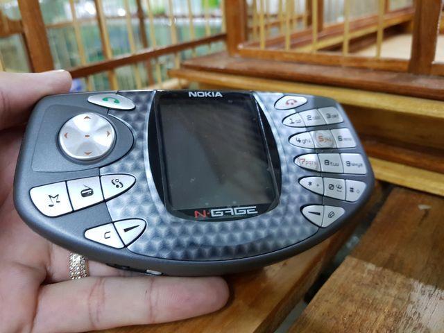 Nokia Ngage NG màu nâu đời đầu nguyên zin cực hiếm đẹp 97% MS 3054