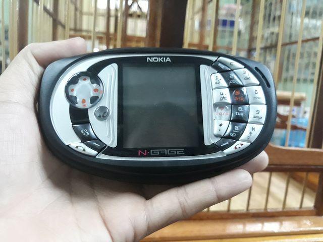 Nokia Ngage QD màu xám nguyên zin thay vỏ ngoài đẹp 98% - Ms 3058