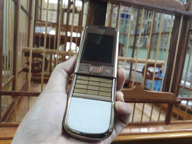 Nokia 8800 Gold Arte nguyên zin thay vỏ đẹp 98% - Ms 3063
