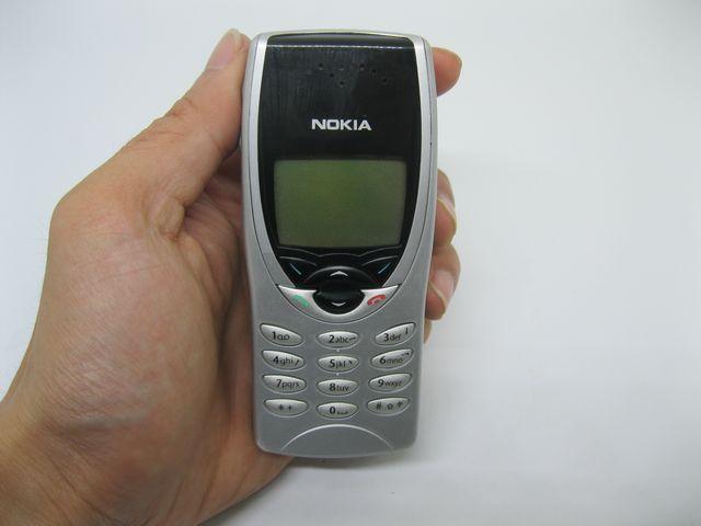 Nokia 8210 trắng bạc nguyên zin chính hãng thay vỏ - Ms V003