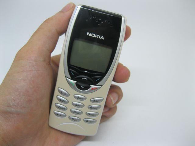 Nokia 8210 trắng ca mây nguyên zin chính hãng thay vỏ - Ms V009