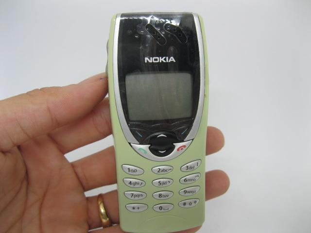 Nokia 8210 xanh lá nhạt nguyên zin chính hãng thay vỏ - Ms V011