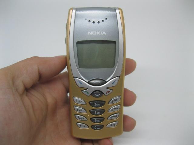 Nokia 8250 màu vàng điện thoại chính hãng thay vỏ - Ms V014