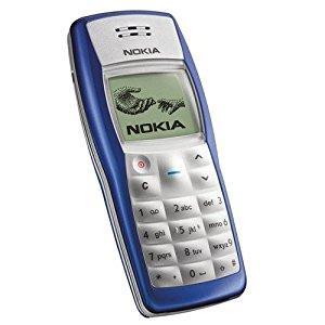 Nokia 1100 màu xanh trắng nguyên zin thay vỏ - Ms V023