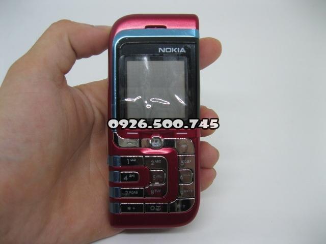 Nokia 7260 chiếc lá nhỏ màu đỏ nguyên zin thay vỏ - M s V026