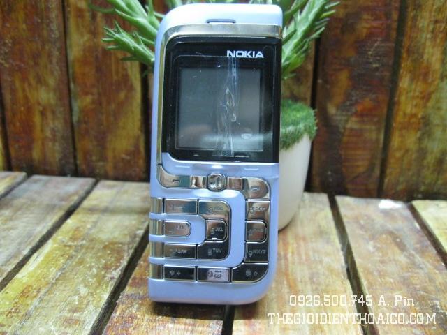 Nokia 7260 màu xanh ngọc nguyên zin thay vỏ - Ms V030