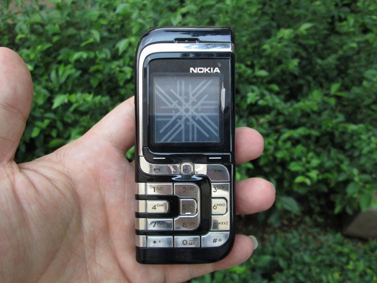 Nokia 7260 màu đen nguyên zin thay vỏ - Ms V031