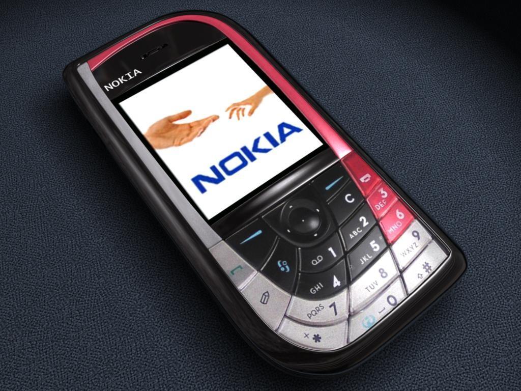 Nokia 7610 màu đỏ đen nguyên zin thay vỏ - Ms V032