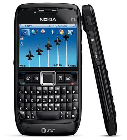 Nokia E71 màu đen nguyên zin thay vỏ - Ms V033