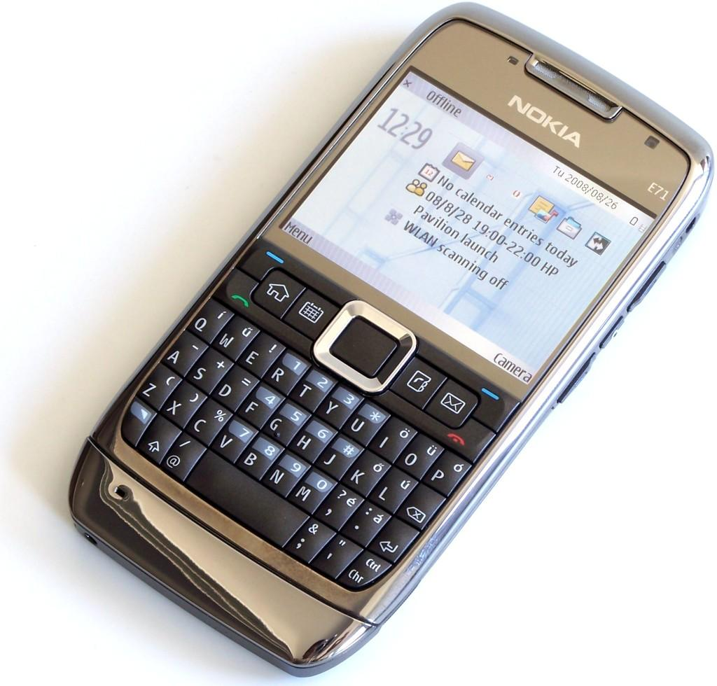 Nokia E71 màu nâu nguyên zin thay vỏ ngoài - Ms V034