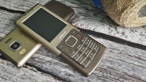 Nokia 6500 Classic màu chocolate nguyên zin thay vỏ - Ms V040
