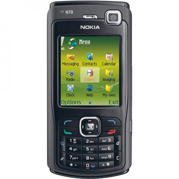 Nokia N70 màu đen nguyên zin thay vỏ - Ms V042