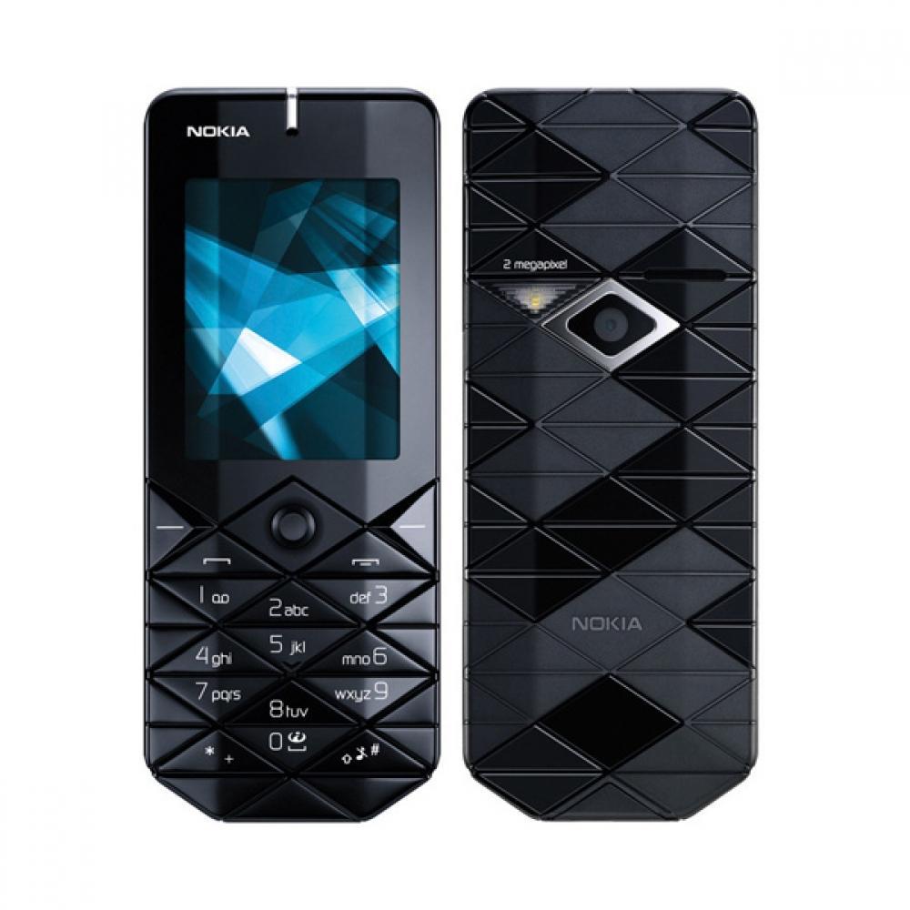 Nokia 7500 màu đen nguyên zin thay vỏ ngoài - Ms V049