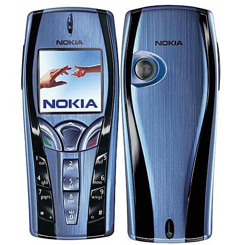 Nokia 7250i màu xanh ngọc nguyên zin thay vỏ ngoài - Ms V053