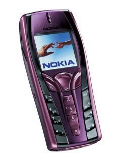 Nokia 7250i màu tím hàng chính hãng nguyên zin thay vỏ ngoài - Ms V054