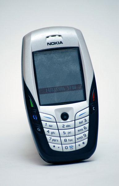 Nokia 6600 màu trắng đen nguyên zin thay vỏ ngoài - Ms V055