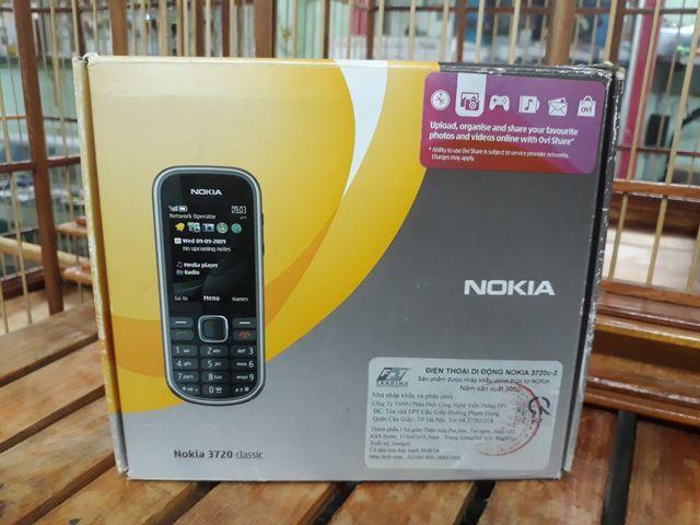 Nokia 3720c màu đen hàng chính hãng full box nguyên zin - Ms 3071