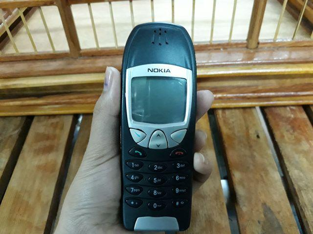 Nokia 6210 màu rêu nguyên zin thay vỏ ngoài không một vết trầy đẹp 98% - MS 3080