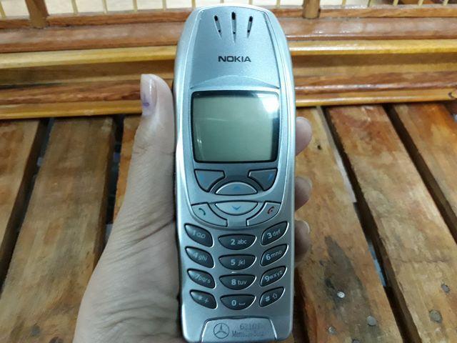 Nokia 6310i màu bạc nguyên zin thay vỏ đẹp 99% - MS 3078