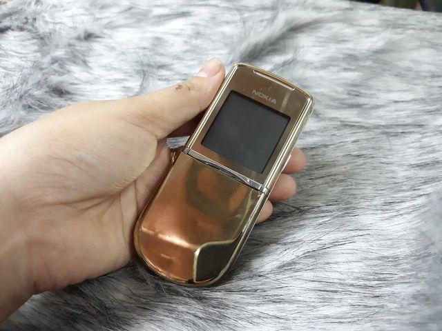 Nokia 8800 Anakin màu gold nguyên zin lên vỏ sirocco đẹp 98% - Ms 3088