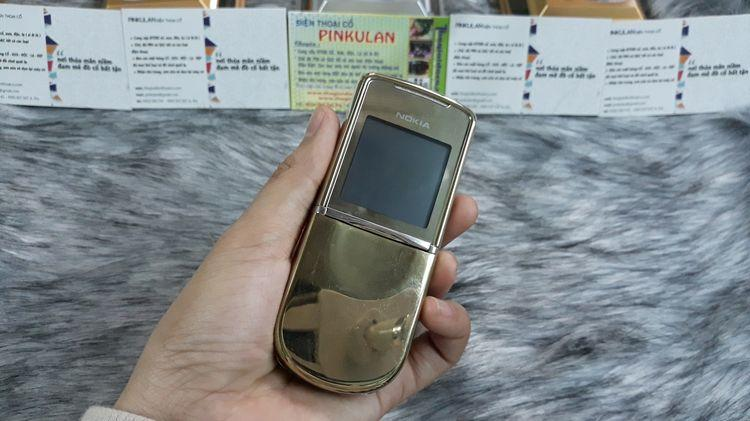 Nokia 8800 Sirocco màu gold nguyên zin thay vỏ đẹp 98% - Ms 3137
