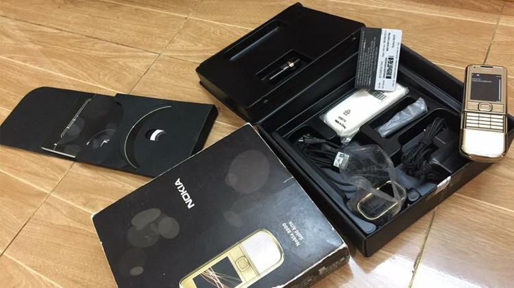 Nokia 8800 Gold Arte đẳng cấp doanh nhân
