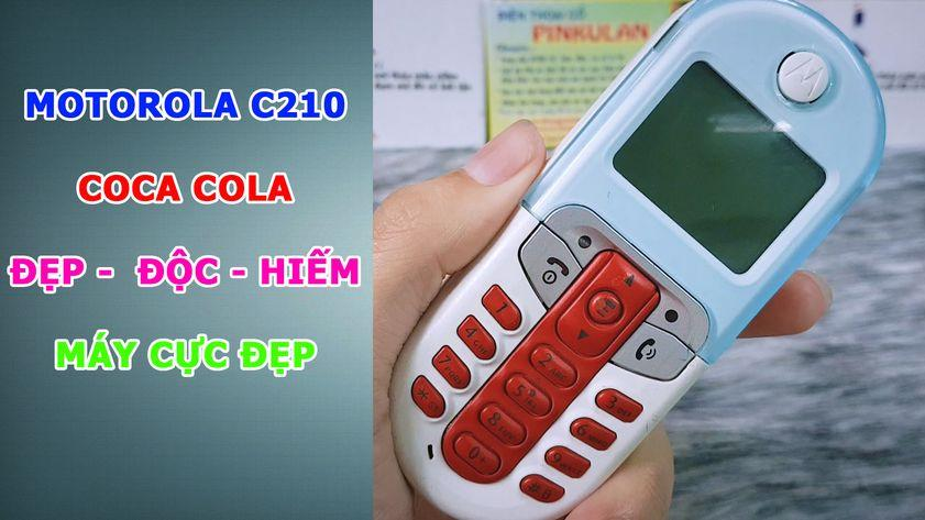 Motorola Cocacola C201