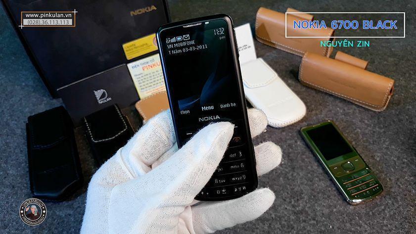 Nokia 6700 Black Nguyên Zin