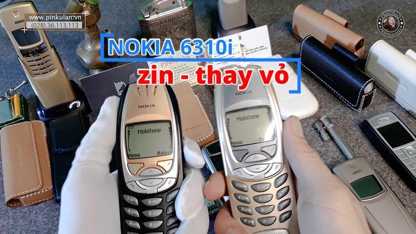 Nokia 6310i màu đen và màu vàng