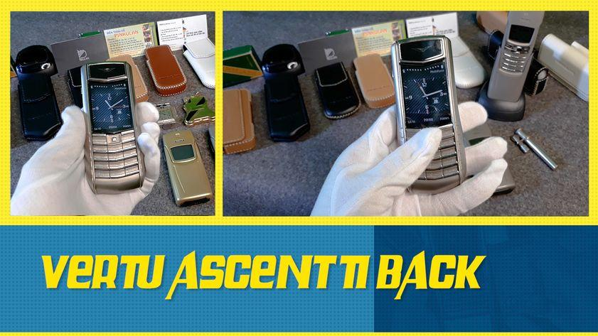 Vertu Ascent Ti Back