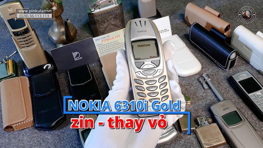 Nokia 6310i gold thay vỏ