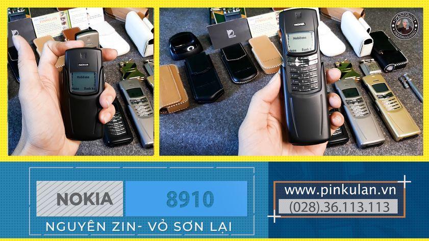 Nokia 8910 đen sơn lại