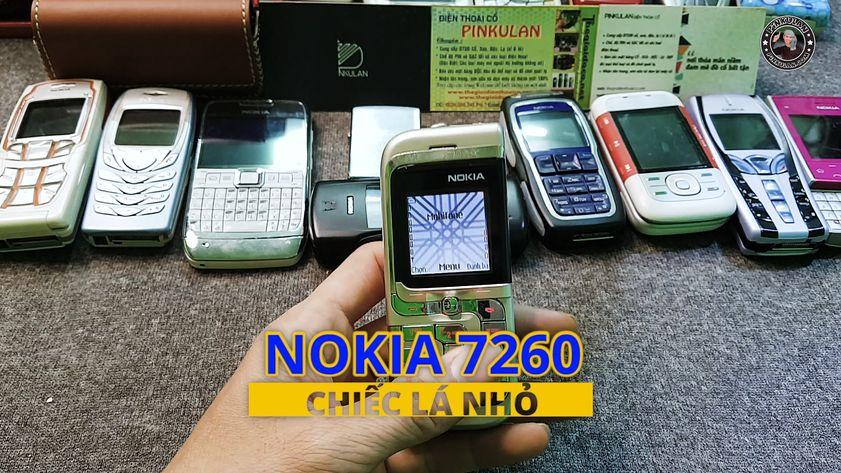 Nokia 7260 nguyên zin