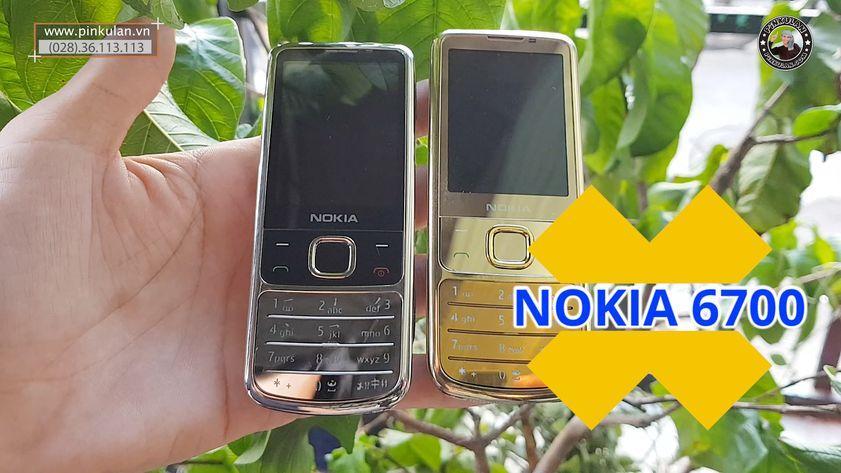 Nokia 6700 Gold Silver