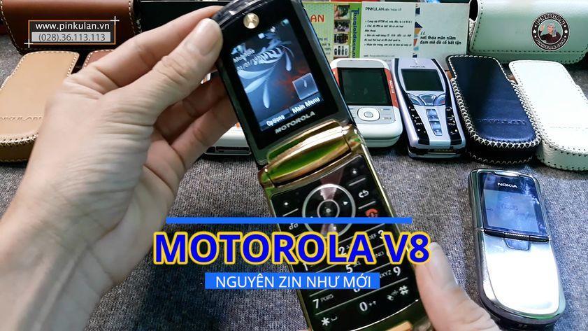 Motorola V8 chính hãng