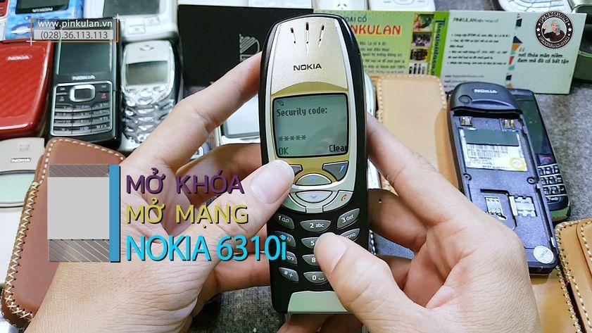 Mở mạng, mở khóa Nokia 6310i