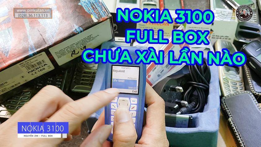 Nokia 3100 fullbox