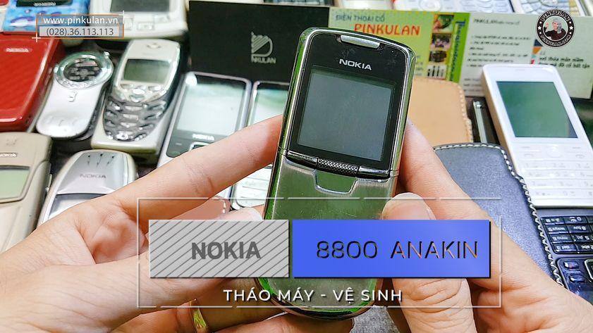 Vệ sinh chiếc máy Nokia 8800 Anakin đơn giản nhất