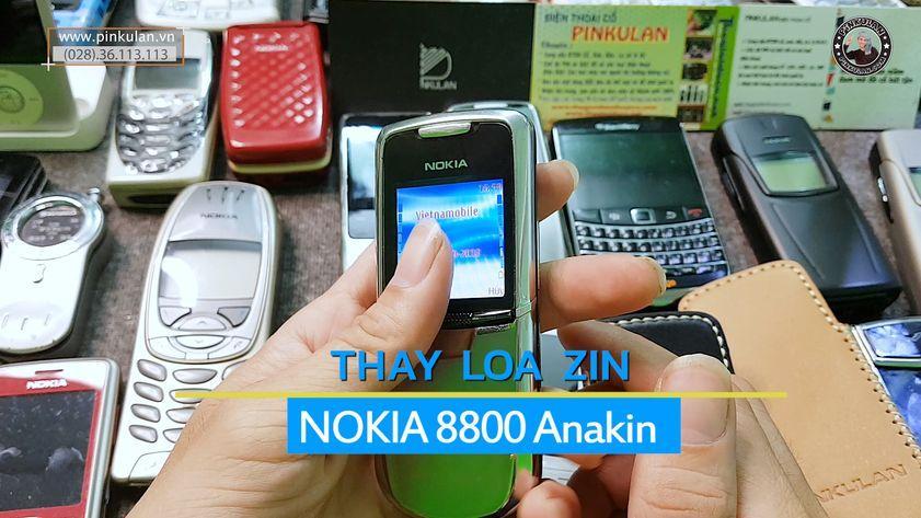 Thay loa zin Nokia 8800 Anakin