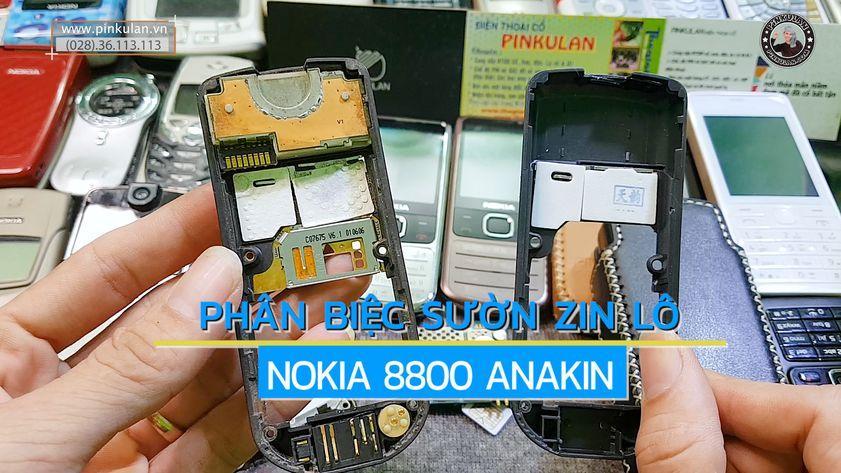 Cách phân biệt sườn Nokia 8800 zin và lô
