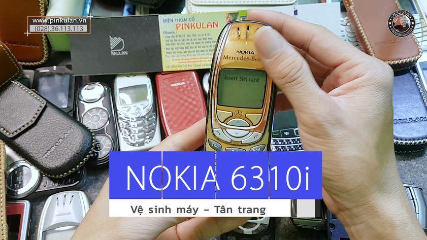 Vệ sinh tân trang máy Nokia 6310i