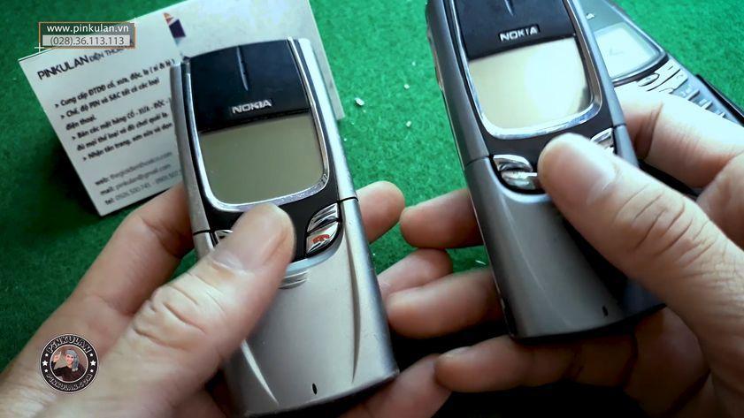 Cách nhận biết và so sánh Nokia 8850 zin và lô