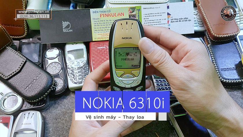 Hướng dẫn cách thay loa Nokia 6310i