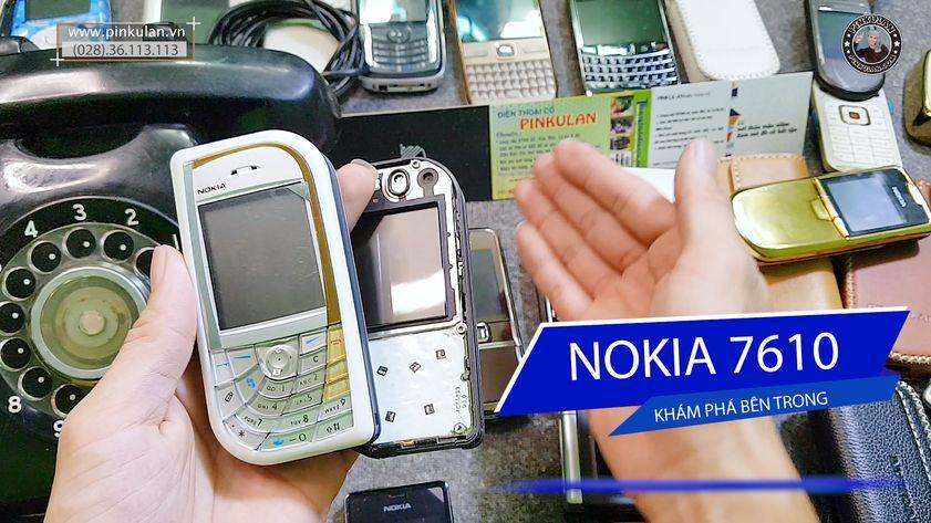 Khám phá chiếc Nokia 7610 của Shop