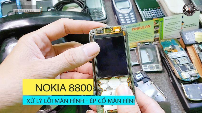 Ép cổ màn hình Nokia 8800 Arte