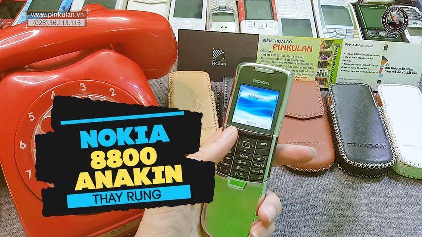 Hướng dẫn thay rung cho Nokia 8800 Anakin