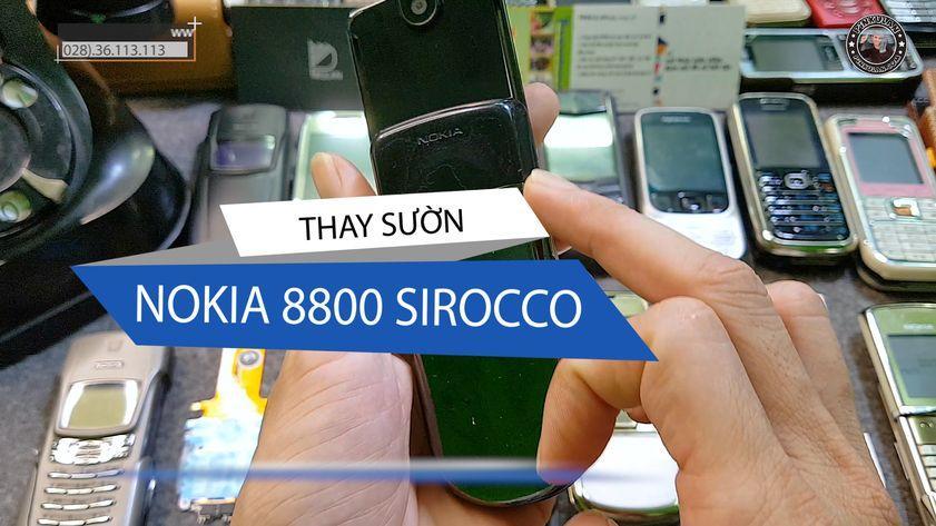 Thay sườn Nokia 8800 Sirocco